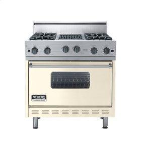 "Biscuit 36"" Open Burner Range - VGIC (36"" wide, four burners 12"" wide char-grill)"