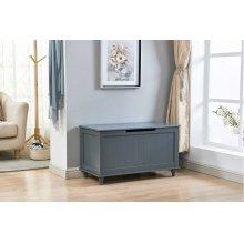 6610 Gray Storage Bench