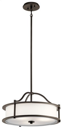 Emory 4 Light Convertible Chandelier Olde Bronze®