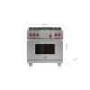"""Wolf 36"""" Dual Fuel Range - 4 Burners And Infrared Charbroiler"""