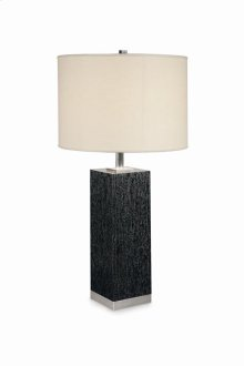 Boissiere White Oak Table Lamp