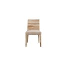 Modernist Palografico Oak Chair - Hueso Product Image
