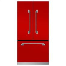 Marvel Elise Counter Depth French Door Refrigerator - Marvel Elise French Door Counter-Depth Refrigerator - Scarlet