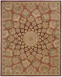 Nourison 2000 2318 Ros Rectangle Rug 5'6'' X 8'6''