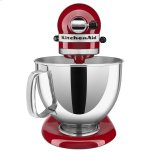Kitchenaid Exclusive Artisan® Series Stand Mixer & Ceramic Bowl Set - Empire Red