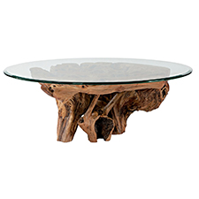 Hidden Treasures Root Ball Cocktail Table