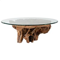 Hidden Treasures Root Ball Cocktail Table Product Image
