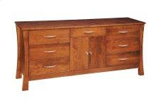7 Drawer / 2 Door Dresser
