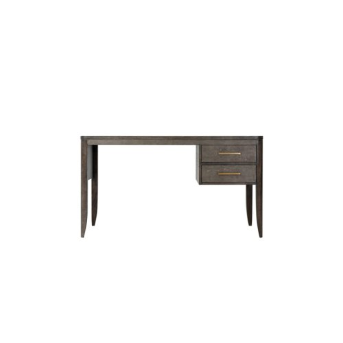 Fitzgerald Writing Table - Rowan, Tempest & Brushed Brass