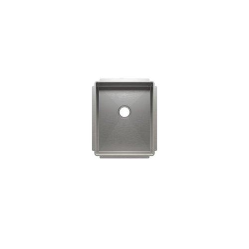 """J7® 003943 - undermount stainless steel Bar sink , 12"""" × 15"""" × 7"""""""
