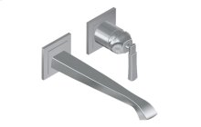 Finezza Wall-Mounted Lavatory Faucet w/Single Handle