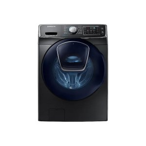 Samsung4.5 cu. ft. AddWash Front Load Washer in Black Stainless Steel