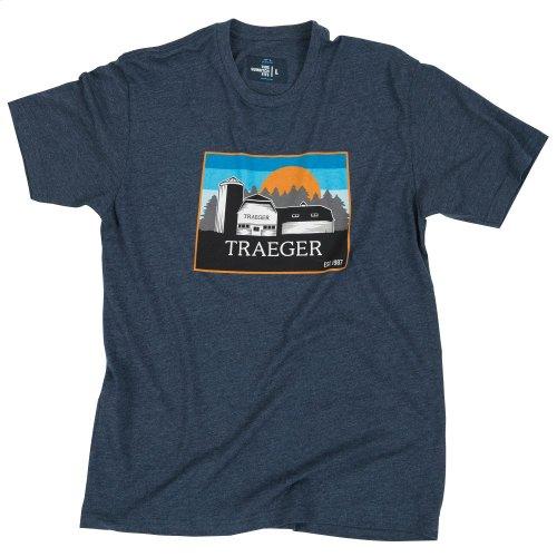 Heritage Barn T-Shirt (Blue)