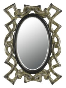 POPOLI RECTANGULAR PU FRAME MIRROR WITH BEVELED GLASS