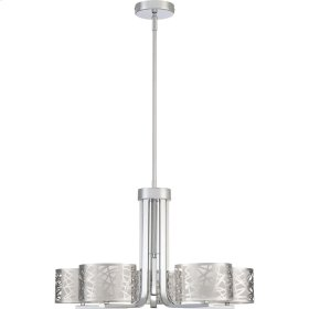 Abode Chandelier in Polished Chrome