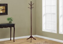 "COAT RACK - 72""H / CHERRY SOLID WOOD TRADITIONAL STYLE"