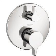 Chrome S/E Pressure Balance Trim with Diverter