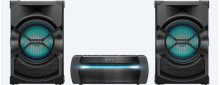 High-Power Home Audio System with Bluetooth®