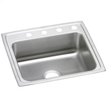 "Elkay Celebrity Stainless Steel 25"" x 21-1/4"" x 7-1/2"", Single Bowl Drop-in Sink"