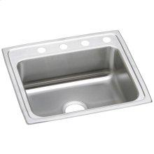 """Elkay Celebrity Stainless Steel 25"""" x 21-1/4"""" x 7-1/2"""", Single Bowl Drop-in Sink"""