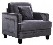 "Ferrara Velvet Chair - 39.5""L x 35""D x 34""H"