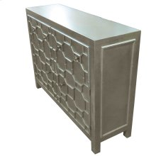 Silvestro Distressed Sideboard 2 Drawers + 2 Doors, Antique Champagne