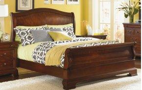 Evolution Sleigh Bed Queen