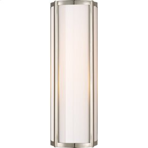 Visual Comfort AH2023PN-WG Alexa Hampton Basil 2 Light 6 inch Polished Nickel Bath Wall Light