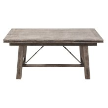 Emerald Home Dakota Refectory Leaf Dining Table Pine D570-15
