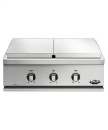 "30"" Liberty Griddle/sideburner for Built-in or On Cart Applications"