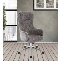 DC#207-MIN Fabric Desk Chair Product Image