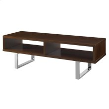 """Amble 47"""" Low Profile TV Stand in Walnut"""