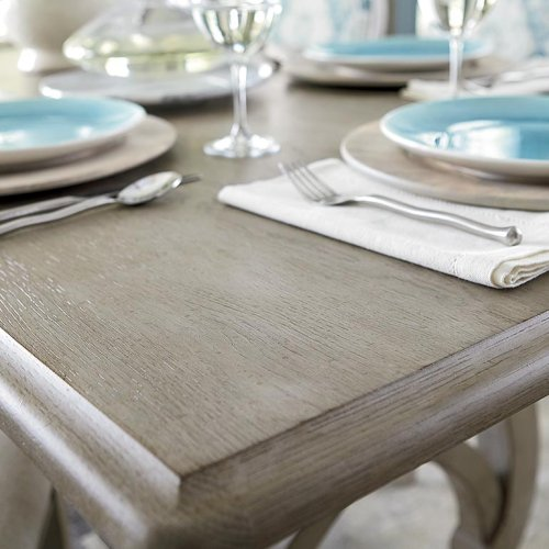 """Custom Dining 101"""" Table with Metal Base"""