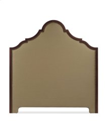 King Wood Peak Uph Headboard