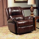 Aries Cocoa Manual Glider Recliner Product Image