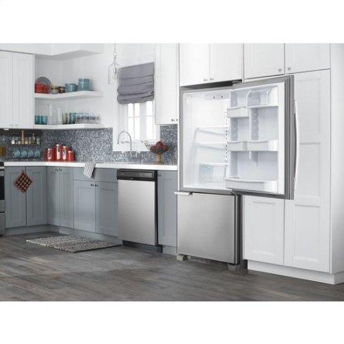 29-inch Wide Bottom-Freezer Refrigerator with Garden Fresh™ Crisper Bins -- 18 cu. ft. Capacity - white
