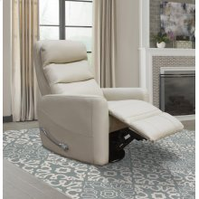 Glider Swivel Recliner with Articulating Headrest