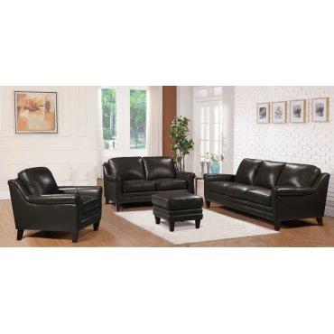 2218 Grandover Chair Ileather 1021a Grey