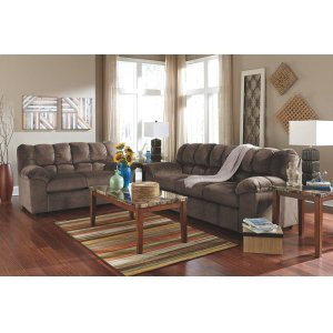 Ashley FurnitureComplete 5PC Living Room Group: Sofa, Loveseat, & 3 Tables