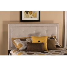 Becker Twin Headboard - Cream Fabric
