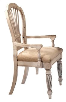 Wilshire Dining Arm Chair Antique White