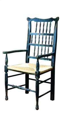 Dover Arm Chair with Rush Seat