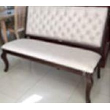 Glen Cove Traditional Cream Bench