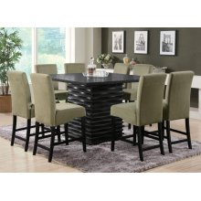 Stanton Contemporary Black Counter-height Table