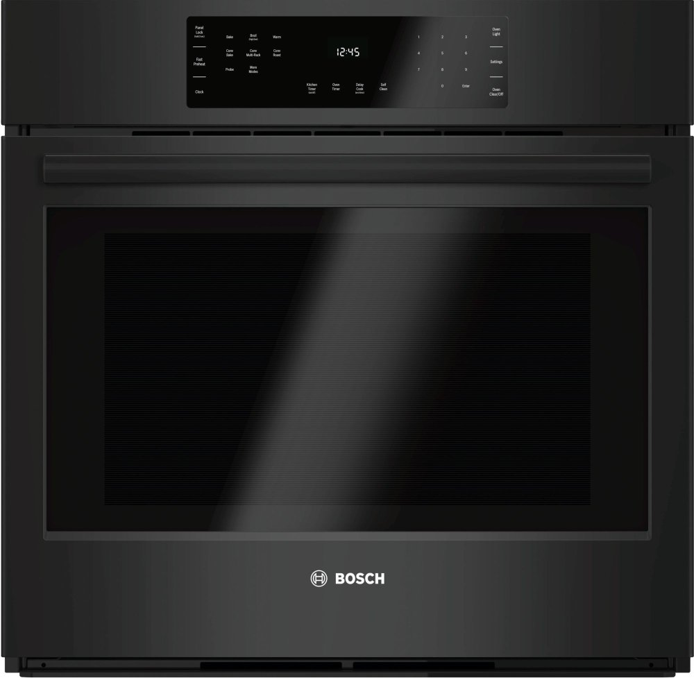 "800 Series, 30"", Single Wall Oven, BL, EU Convection, Touch Control