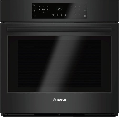 """800 Series, 30"""", Single Wall Oven, BL, EU Convection, Touch Control"""