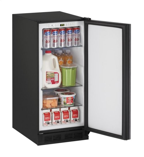 "15"" Solid Door Refrigerator Integrated Solid Field Reversible"