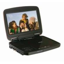 "8"" Portable DVD Player with USB Port and SD Slot"