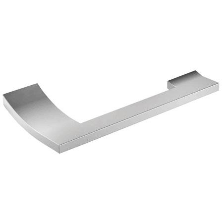 Polished-Chrome Open Toilet Tissue Holder