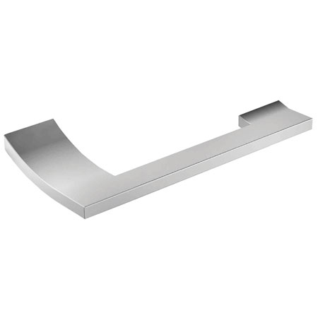 Polished-Chrome Open Toilet Tissue Holder